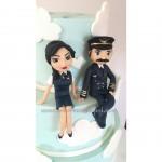 pilot ve hostes nişanlanırsa:)